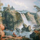 "Goblen ""Cascada de la Tivoli"" - H. Robert - Tapiterie Goblen"
