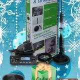 Kit Complet statie radio + antena - Statie radio TTi TCB-550 cu antena TTi CB-X14S