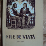 FILE DE VIATA - POVESTIRI - Carte educativa