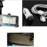 Suport + incarcator + original iphone 2 3 3gs masina iphone auto - Suport auto