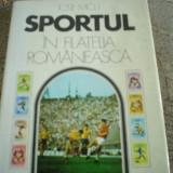 Sportul in filatelia romaneasca iosif micu
