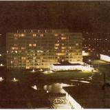 CP208-01 Mamaia -noaptea, un peisaj de basm -RPR(ONT Carpati) -carte postala necirculata -starea care se vede