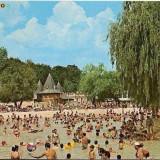 Carti Postale Romania dupa 1918 - CP208-52 Baile Felix -Strandul termal -carte postala circulata 1978 -starea care se vede