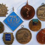 9 medalii vechi inot natatie, Europa