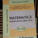 CC4 - MATEMATICA - CLASAA X - A - Manual scolar