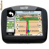 GPS Easy go, 5 inch, 16 canale, Comanda vocala: 1, Redare audio: 1, Sugestii multiple de cai: 1