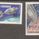 Timbre Romania - Apollo 9 si 10 nestampilat 1969