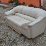 Canapea living din piele - Mobila living