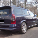 Spoiler, Opel, ASTRA G (F35_) - [1998 - 2009] - Prelungire bara spate Opel Astra G caravan OPC line