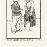 1875 - BRAILA - vanzatori ambulanti - old postcard - unused