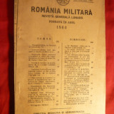 Istorie - Revista - Romania Militara -sept.1933