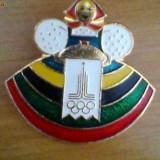 Insigna urss olimpiada 1980