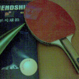 Paleta ping pong - PALETE TENIS DE MASA FRIENDSHIP INTERMEDIARI