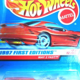HOT WHEELS --WAY2FAST ++1799 DE LICITATII !! - Macheta auto Hot Wheels, 1:64