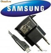 INCARCATOR SAMSUNG Galaxy Mini S5570 INCARCATOR SAMSUNG ORIGINAL MUFA microUSB MICROUSB PRODUS NOU foto