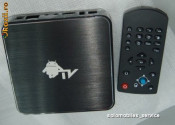 Media Player ANDROID TV BOX cu Android 2.3 WiFi RJ45 Usb Cortex-A8 1.2GHZ +RAM 512mb +HDD 4gb foto