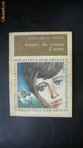 Edmondo de Amicis - Povestiri din volumul Cuore foto