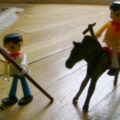 Set colectie lot 2 Figurine indieni cal stil Playmobil figurina western - Jocuri Seturi constructie