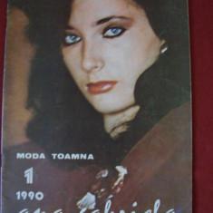 ANA GABRIELA - REVISTA DE MODA NR. 1/1990 - Revista moda
