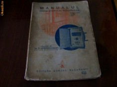 Carti Electronica - MANUALUL INSTALATORULUI ELECTRICIAN W.BLATZHEIM AN.1946