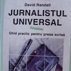 JURNALISTUL UNIVERSAL - Carte de publicitate