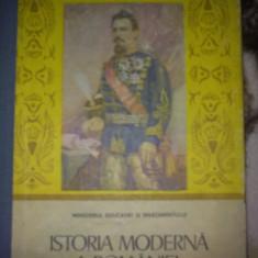 Istoria moderna a Romaniei - Manual Cls. a IX - a