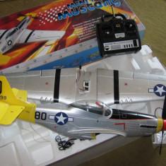 AEROMODEL MINI MUSTANG P-51D - Aeromodelism