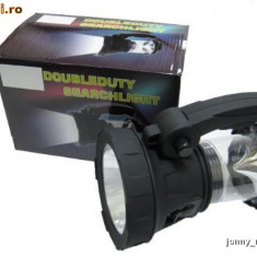 Lanterna / Felinar Search-Light cu Led Luxeon si Acumulator