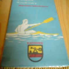 Fanion sport canotaj katowice polonia - Caiac Canoe