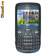 Telefon mobil Nokia C3, Neblocat - NOKIA C3_00 black 2011