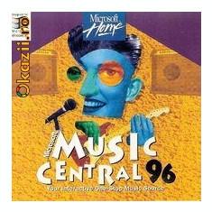 Microsoft Music Central 96, Baze de date, Windows 95, CD