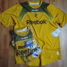 Tricouri Reebok 100% originale aduse din U.K. - Tricou barbati North Face, M, Maneca scurta, Bronz, Poliester