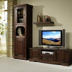 Comoda dormitor - COD 2525 Comoda TV si 2540 Turn Program MEXICAN Colonial mobila lemn masiv