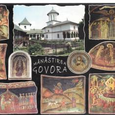 Carte postala-VALCEA-Manastirea Govora