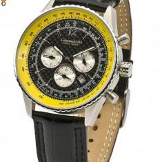 Ceas de lux Calvaneo 1583 Defcon Fiber CARBON Luxus Chronograph - Ceas barbatesc