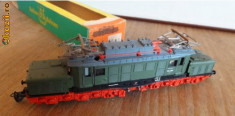 Macheta Feroviara - Locomotiva Electrica TT E 94065 - RARITATE MODEL '70