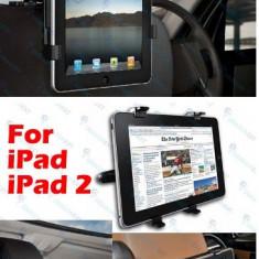 Suport auto tetiera apple ipad 1 si 2 3 4 stand masina - Suport auto tableta
