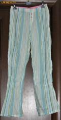 Camasa de noapte Victoria's Secret, Bleu - Pantaloni pijama subtiri Victoria's Secret - pret redus