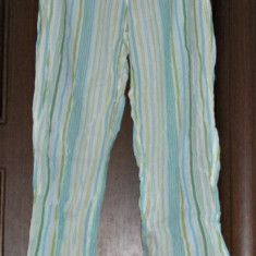Pantaloni pijama subtiri Victoria's Secret - pret redus - Camasa de noapte Victoria's Secret, Bleu