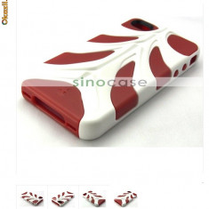 Super husa protectie cool Iphone 4 red alien expediere gratuita