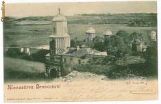 Carti Postale Romania 1904-1918 - 1807 - Jud. OLT ( Romanati ) - Manastirea BRANCOVENI - old postcard - clasica - used - 1902