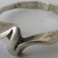 Inel argint - Inel vechi din argint (49) - de colectie