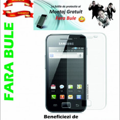Folie de protectie Samsung Galaxy Ace S5830 MONTAJ GRATUIT