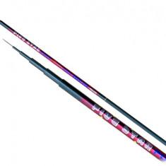 Undita fibra de carbon Five Star 7m foarte usoara - Greutate: 290g. - Varga