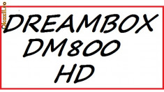 Receiver satelit - Dreambox DM 800 S HD PVR tuner BSBE2 ver.M v.2014 ss84b + Garantie 12 luni + stick wi-fi optional !!!