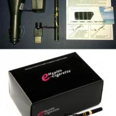 Tigara Tigare Electronica Neagra Tigari Electronice + 10 filtre + 3 incarcatoare - Tigara electronica