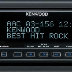 Kenwood Auto MP3 Receiver High End - fata cu Dmask+ 4x50W - CD Player MP3 auto