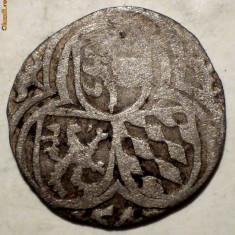 E.421 AUSTRIA SALZBURG ERNST VON BAYERN ZWEIER 2 PFENNIGE 1540-1554 ARGINT - Moneda Medievala, Europa, An: 1500