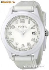 Ceas Barbatesc fossil, Casual, Quartz, Carbon, Cauciuc, 50 m / 5 ATM - Ceas Fossil JR1295 original nou cu eticheta
