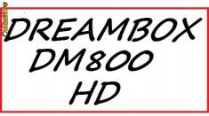 Receiver satelit - Dreambox DM 800 S HD PVR New In Box v.2014 ss84D + Garantie 12 luni + stick wi-fi optional !!!